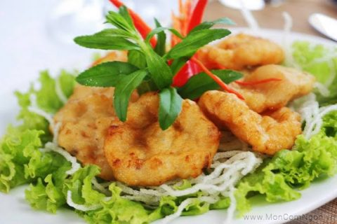 Chả mực Hạ Long - Vân Đồn Quảng Ninh - Đặc sản món ngon